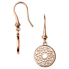 Links of London Timeless Rose Gold Vermeil Drop Earrings - Product number 4587871