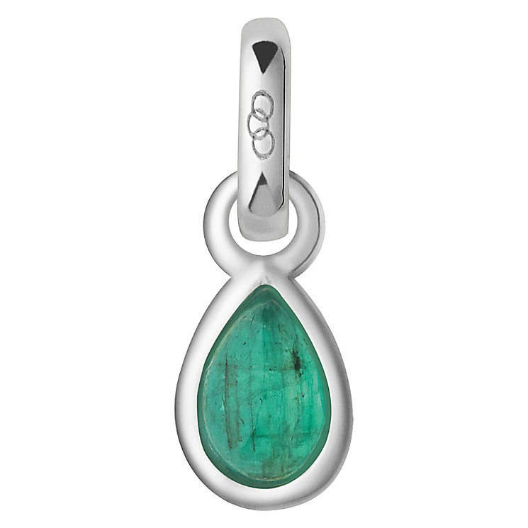 Links of London May Sterling Silver & Emerald Charm - Product number 4588096