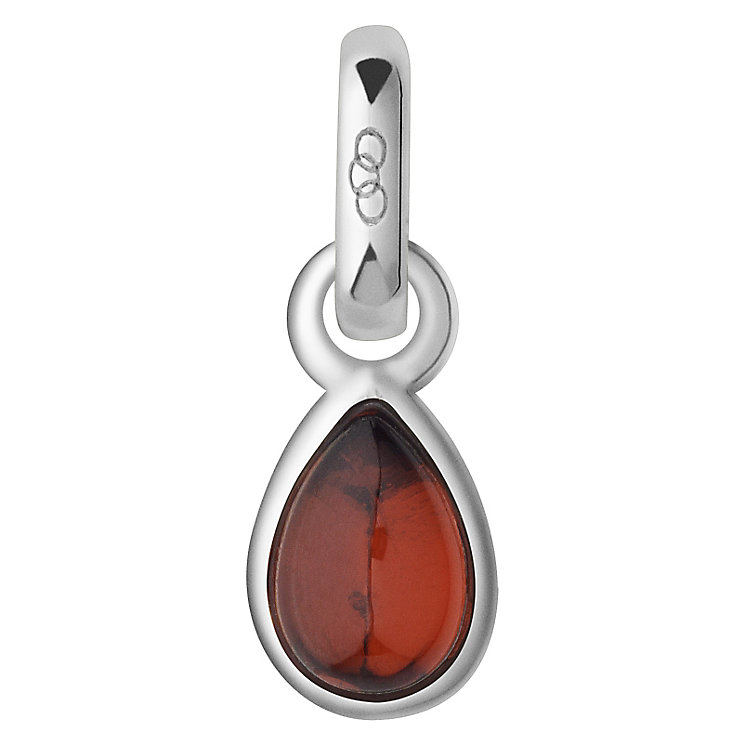 Links of London January Sterling Silver & Garnet Charm - Product number 4588185
