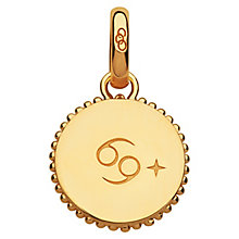 Links Of London 18ct Yellow Gold Vermeil Cancer Charm - Product number 4588266
