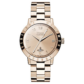 Vivienne Westwood Ladies' Rose Gold Plated Bracelet Watch - Product number 4590686