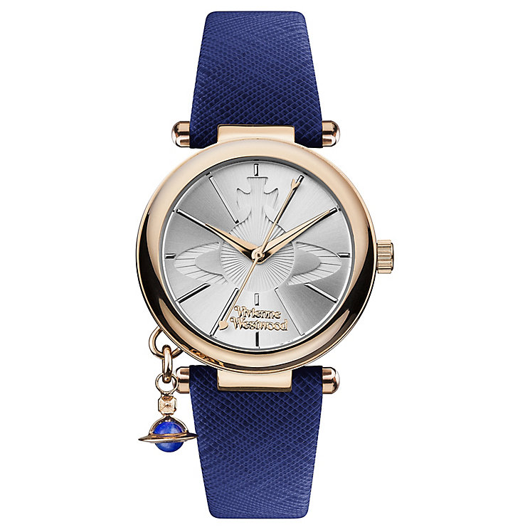 Vivienne Westwood Ladies' Rose Gold Plated Strap Watch - Product number 4590708