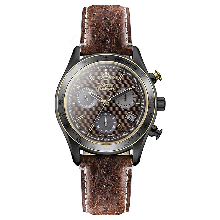 Vivienne Westwood Men's Ion Plated Strap Watch - Product number 4590732
