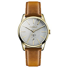 Barbour Leigh Ladies' Gold Plated Strap Watch - Product number 4590929