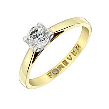 18ct Gold 0.38 Carat Forever Diamond Ring - Product number 4598253