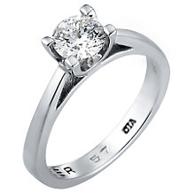 The Forever Diamond - 18ct White Gold 1/2 Carat Diamond Ring - Product number 4600371