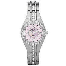 Relic Ladies' Stone Set Stainless Steel Bracelet Watch - Product number 4607880