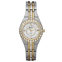 Relic Ladies' Stone Set Two Colour Bracelet Watch - Product number 4607899