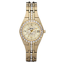 Relic Ladies' Stone Set Gold-Plated Bracelet Watch - Product number 4607902