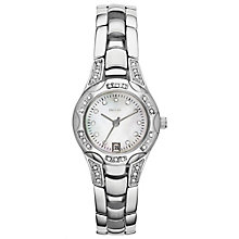 Relic Ladies' Stone Set Stainless Steel Bracelet Watch - Product number 4607910