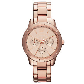 Relic Ladies' Rose Dial Rose Gold-Plated Bracelet Watch - Product number 4608143