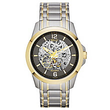 Relic Men's Two Colour Stainless Steel Bracelet Watch - Product number 4608259
