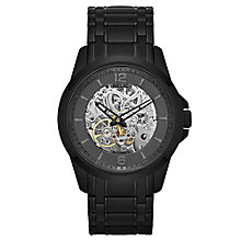 Relic Men's Gunmetal Dial Black Ion-Plated Bracelet Watch - Product number 4608267