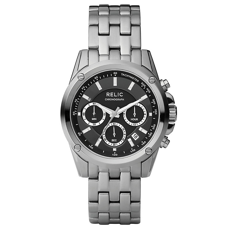 Relic Men's Chronograph Stainless Steel Bracelet Watch - Product number 4608623