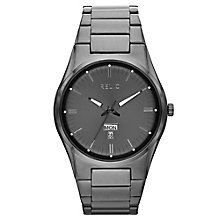 Relic Men's Grey Dial  Stainless Steel Bracelet Watch - Product number 4609239