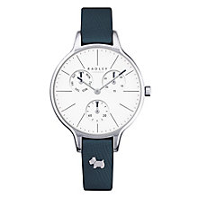 Radley Ladies' Stainless Steel Black Leather Strap Watch - Product number 4610458