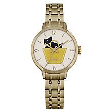 Radley Ladies' Gold-Plated Stainless Steel Bracelet Watch - Product number 4610482