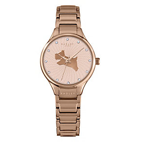 Radley Ladies' Stone Set Rose Gold-Plated Stainless Watch - Product number 4610504
