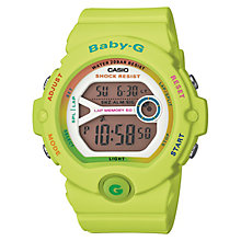 Casio Baby-G Green Alarm Chronograph Watch - Product number 4614674