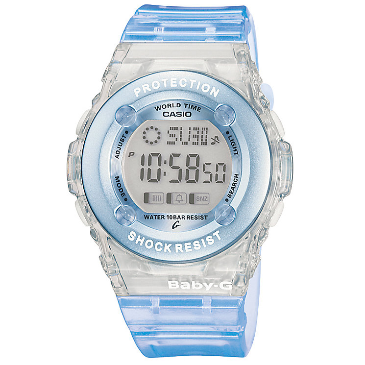 Casio Baby-G Blue Resin Strap Watch - Product number 4614690