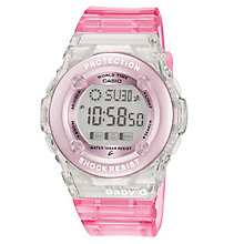 Casio Baby-G Pink Resin Strap Watch - Product number 4614704
