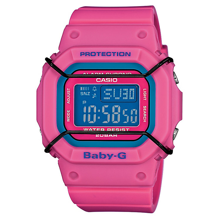 Casio Baby-G Red Multicolour Dial Resin Strap Watch - Product number 4614747