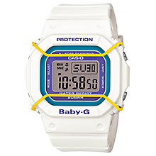 Casio Baby-G White Multicolour Dial Resin Strap Watch - Product number 4614763