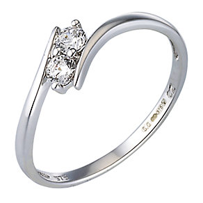 9ct White Gold Ring - Product number 4615735