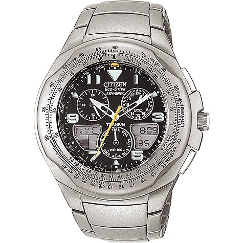 Citizen Eco-Drive Skyhawk mens chronograph watch