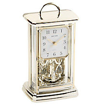 Rhythm Gold Tone Mantel Clock - Product number 4619056