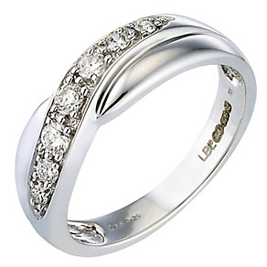 Bride's White Gold Ring - Product number 4622103