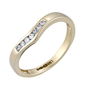 Ladies' 9ct Gold Diamond Set Ring - Product number 4622715