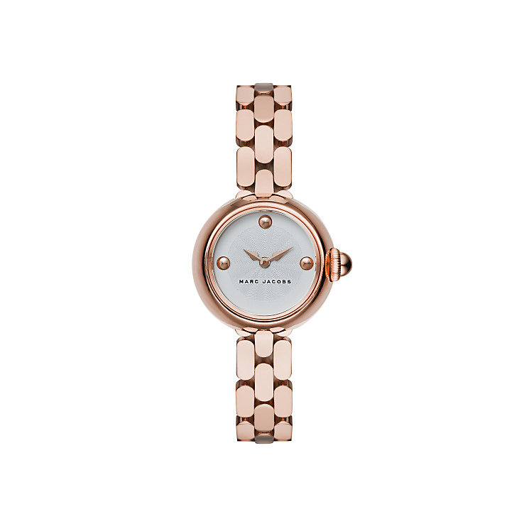 Marc Jacobs Court Ladies' Rose Gold Tone Bracelet Watch - Product number 4624165