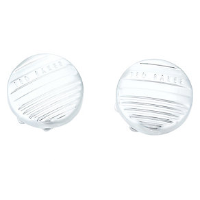 Ted Baker Stainless Steel Button Cufflinks - Product number 4624513