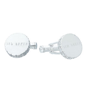 Ted Baker Stainless Steel Groovy Cufflinks - Product number 4624521