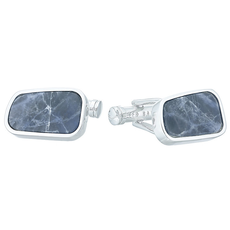 Ted Baker Stainless Steel Blue Cufflinks - Product number 4624556