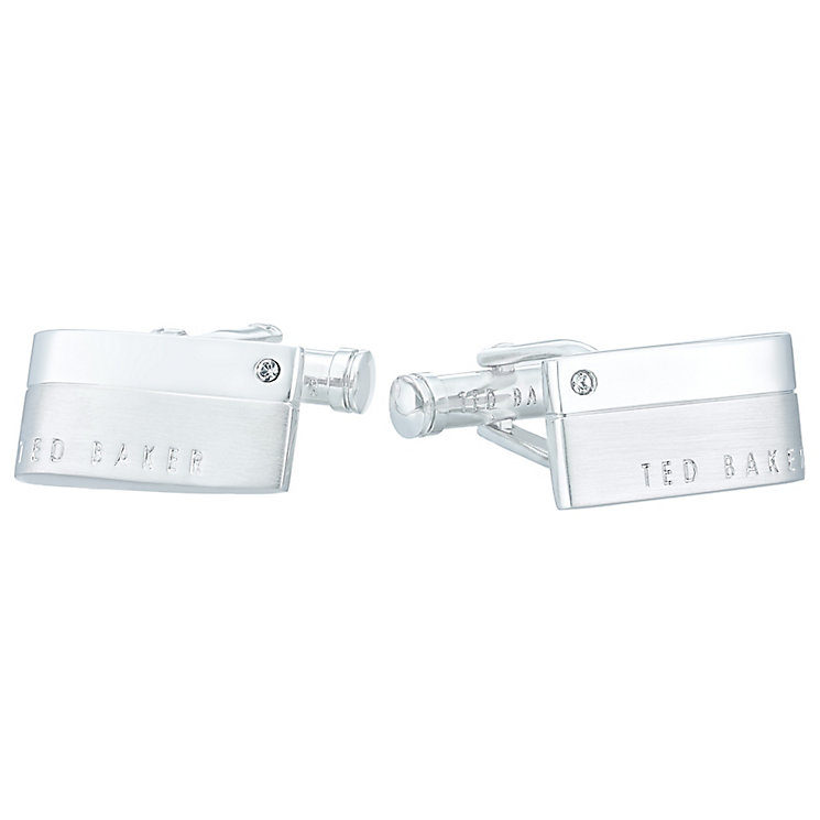 Ted Baker Stainless Steel Rectangle Cufflinks - Product number 4624564