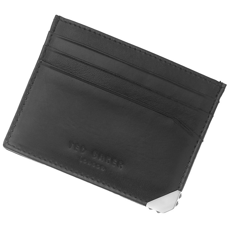 Ted Baker Men's Black Leather Card Holder - Product number 4624637