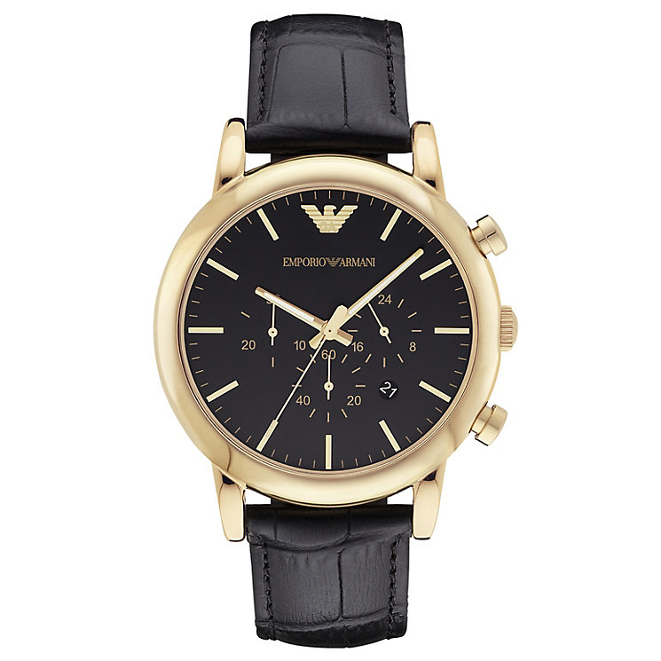 Emporio Armani Men's Strap Watch - Product number 4627393