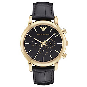Emporio Armani Luigi Men's Strap Watch - Product number 4627393