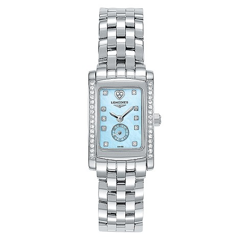Longines Dolcevita Bella Amore ladies' stainless steel watch