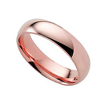 9ct gold super heavy 5mm court ring - Product number 4633288