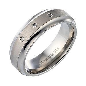 s titanium engagement ring h samuel