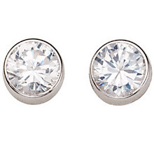 White Gold Stud Earrings - Product number 4668847