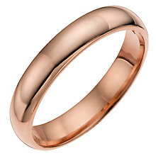 9ct rose gold wedding ring - Product number 4672224