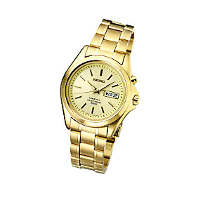 Seiko Men's Champagne Dial Watch - Product number 4676858