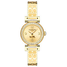 Coach Ladies' Gold tone Bangle Watch - Product number 4677706