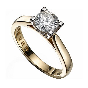 The Forever Diamond - 18ct Gold 1 Carat Diamond Ring - Product number 4677862
