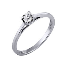 The Forever Diamond Platinum 1/4 Carat Diamond Ring - Product number 4678079