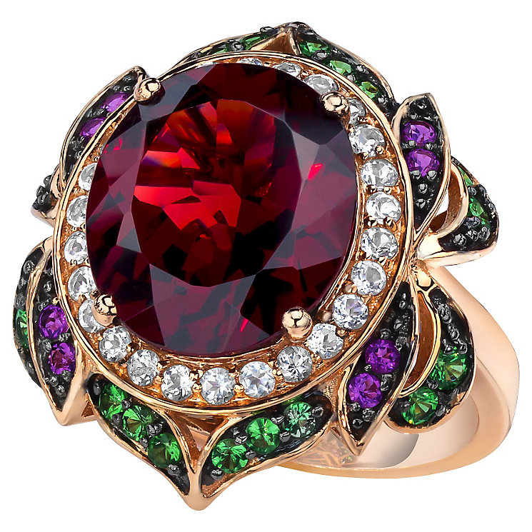 Le Vian 14ct Strawberry Gold Pomegranate Garnet Ring - Product number 4684346